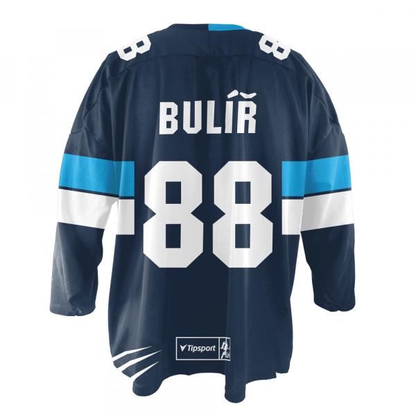 Dres fan 2018 19 na přání modrý  36aed59bb7